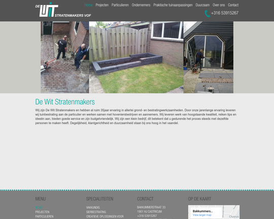 De Wit Stratenmaker